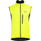 GORE WEAR C3 Windstopper Vest Men neon yellow/black